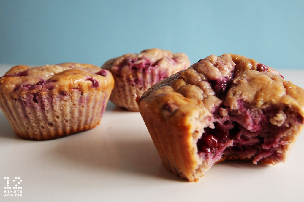 blackberry oatmeal muffins