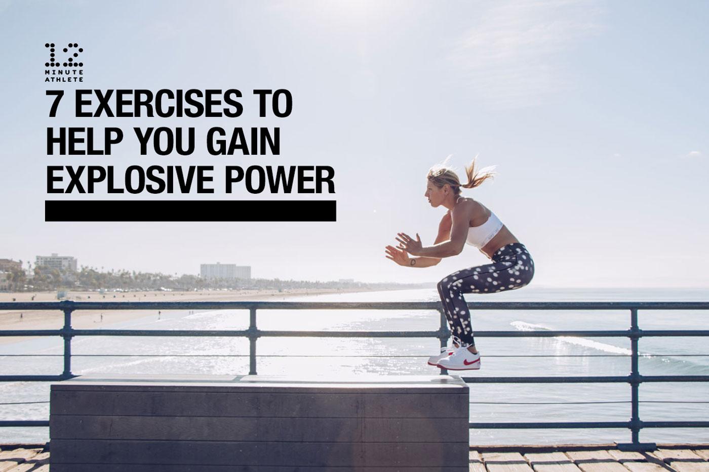 gain explosive power
