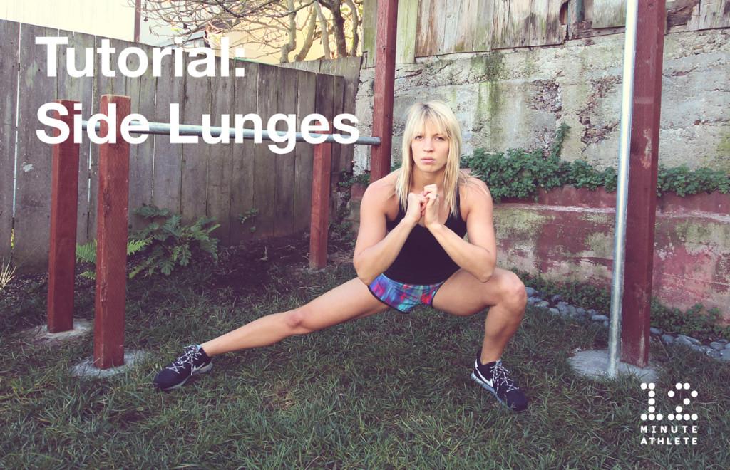 side lunge tutorial 12 Minute Athlete