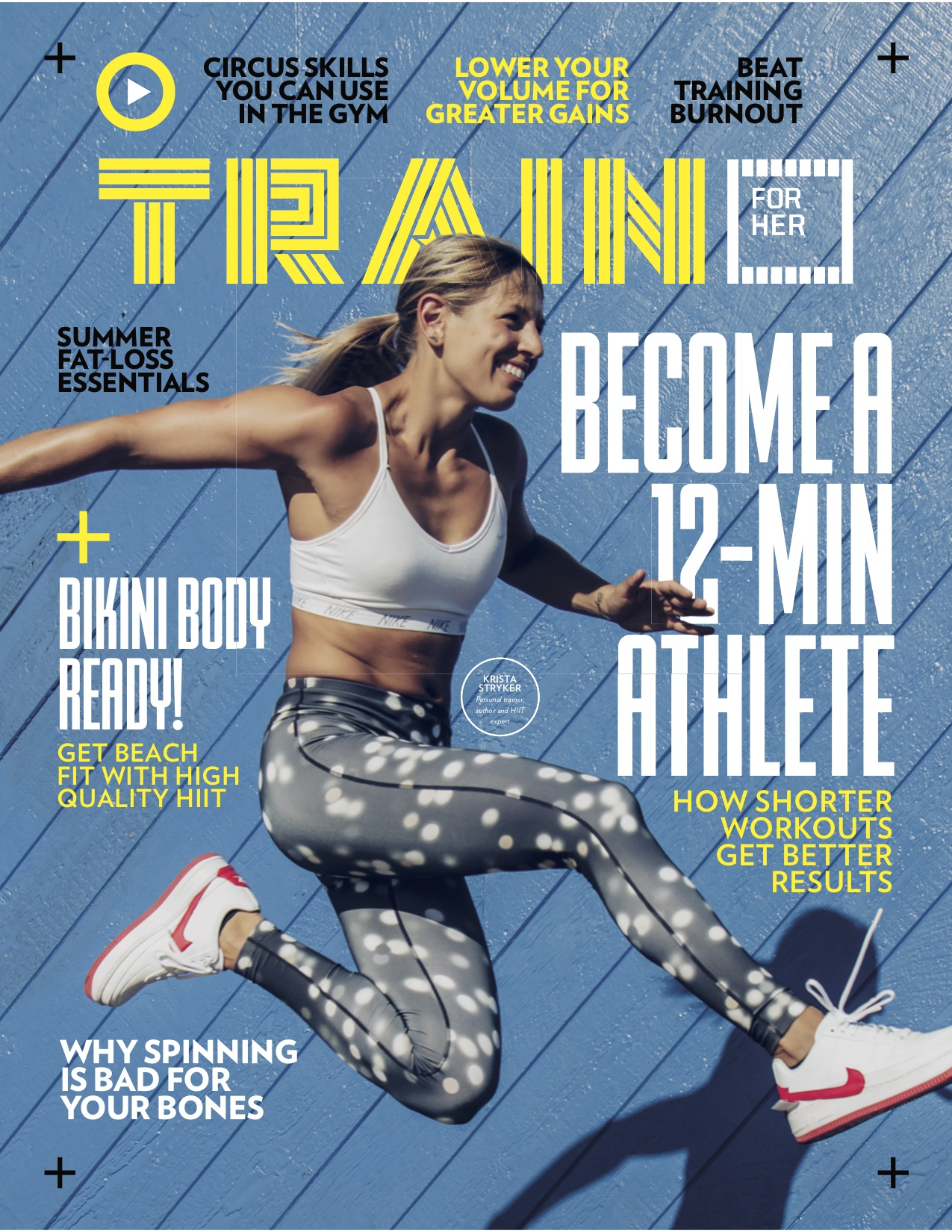 Train Magazine Krista Stryker