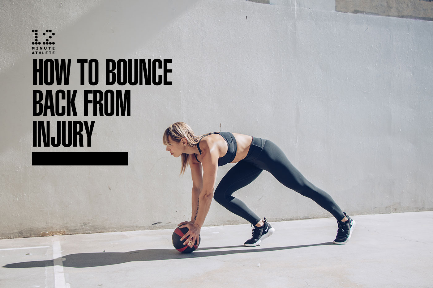 how to bounce back from injury