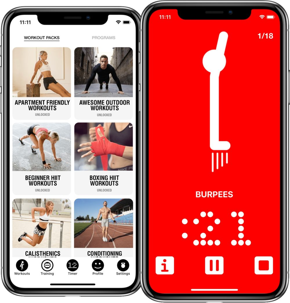 12 Minute Athlete app